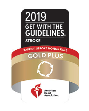2019 Stroke Gold Plus Award